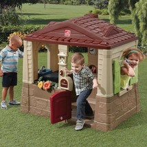 Outdoor Playhouse For Kids Toddlers Girls Toys Boys Backyard Cottage Pla... - $206.13