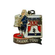 Vintage Philadelphia 2000 Souvenir Pendant Memorabilia Collectibles - $3.95