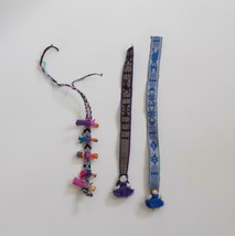 Souvenir Worry Doll Lot Bookmarks Friendship Bracelet Collectible - $17.81