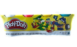 HASBRO - Play-Doh 4 Pack Classic Colors - $5.90