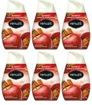 (Pack of 6) Renuzit Gel Air Freshener, Blissful Apple and Cinnamon 7 oz - $21.77