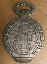 Souvenir Watch Fob From 1893 Chicago World's Expo (#cr187) - $14.95