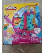 Play Doh Spin And Style Cinderella Set Disney Princess Hasbro With Spark... - $32.43