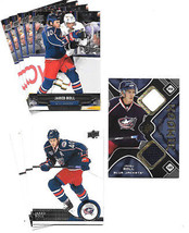 2014-15 Upper Deck-JARED BOLL-8 cards-Columbus Blue Jackets-SPX RC Jerse... - $0.79