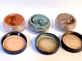 3 BAREMINERALS id GLIMPSE EYESHADOW ESCENTUALS retired NIGHT OWL PEACEFU... - $7.60