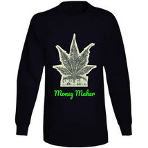 Money Maker 420 Canna Long Sleeve T Shirt image 10