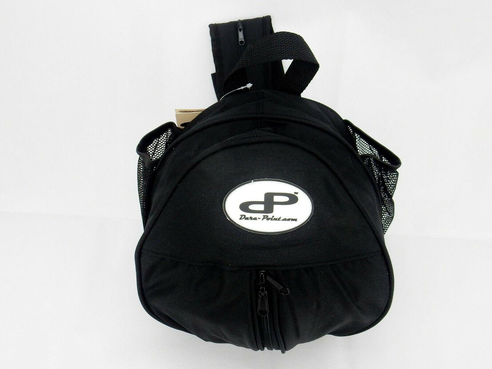 UP Mesh Black Equipment Bag Adjustable Sliding Drawstring Cord Closure