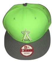 NWT New Los Angeles Angels New Era 9Fifty The Queens Neon Green Snapback... - ₹1,938.96 INR