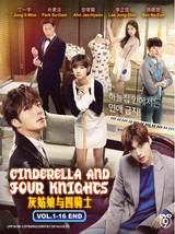 Korean Drama DVD Cinderella And Four Knights Vol.1-16 End Eng Sub Ship From USA
