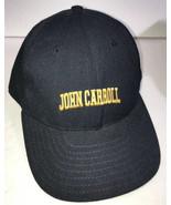 John Carroll Blue Streaks Hat Size 6-3/4 Vintage Baseball Cap Made in USA - £10.99 GBP