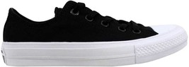 Converse Chuck Taylor II 2 OX Black/White 150149C Men's SZ 4 - $55.41