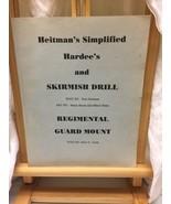 Heitman's Simplified Hardee's And Skirmish Drill By Don Heitman (1990) - $4.95