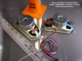 Sanyo DP32647-04 Speakers Jingli LBB08800 8 Ohms 5 Watts with wiring - $13.06