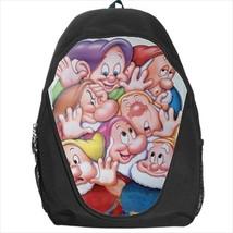 backpack snow white dwarfs grumpy bashful dopey sneezy sleepy - $39.79
