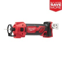 Milwaukee M18 18-Volt Lithium-Ion Cordless Drywall Cut Out Tool (Tool-Only) - $115.14