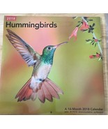 2018 Hummingbirds Wall Calendar (Mead) - $8.50