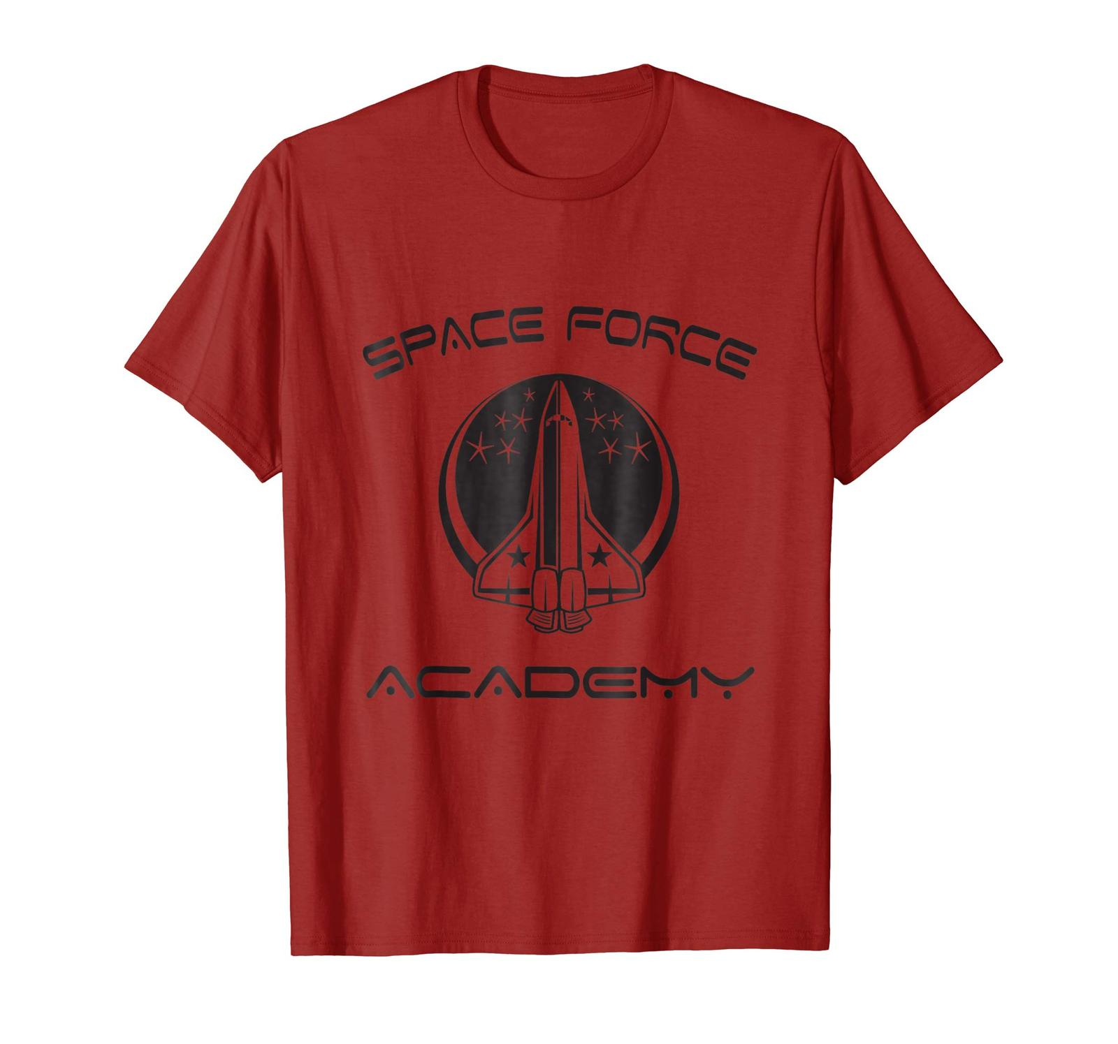Funny Happy birthday T-Shirt - SPACE FORCE T-SHIRT Great Science Academy Gift Id