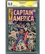 Captain America #107 (Marvel, 1968) CGC 8.0 SS Stan Lee - $445.50