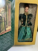 Yuletide Romance Barbie Hallmark Holiday Edition 1996 New green dress br... - $17.77