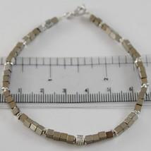 Armband Giadan aus 925 Silber Hämatit Glänzend und Diamanten Weiß - $168.43