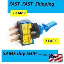blue 12v switch 20 AMP max - $8.78