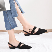 Sandals knot Sandals Plaid Women Summer Shallow Flat Butterfly Sexy Track Road q8awBB