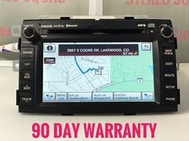 """KI258"" 11-13 Kia Sorento Am Fm Cd Mp3 Sat Gps Navigation Radio Receiver Oem - $282.40"