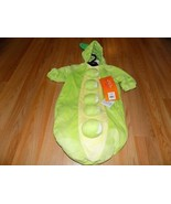 Baby Size 0-6 Months Hyde & Eek Peapod Pea in the Pod Halloween Costume ... - $22.00