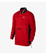 Nike Red Pullover Lightweight Active Wear Mens Basketball Jacket AJ3918-657 - $89.00