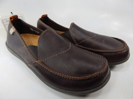 Spenco Siesta Size US 9 M (D) EU 42.5 Men's Slip On Leather Casual Loafer Brown