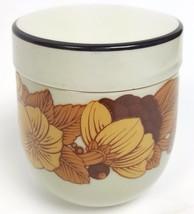 Vintage ROSENTHAL Germany Studio-Linie Lidded Bowl Brown Floral Design 3... - $21.22