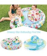 Dreamy Star Swimming Pool For Chidren 3PCS/Set(Blue) - $41.41