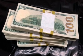 50.000 Prop Money Used Replica 100s New Style All Full Print For Movie Video - $105.00