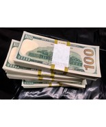 50.000 PROP MONEY USED REPLICA 100s New Style All full Print For movie V... - $105.00