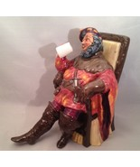 "Royal Doulton The Foaming Quart Seated Figure 5 1/2"" Mint HN 2162 - $31.31"