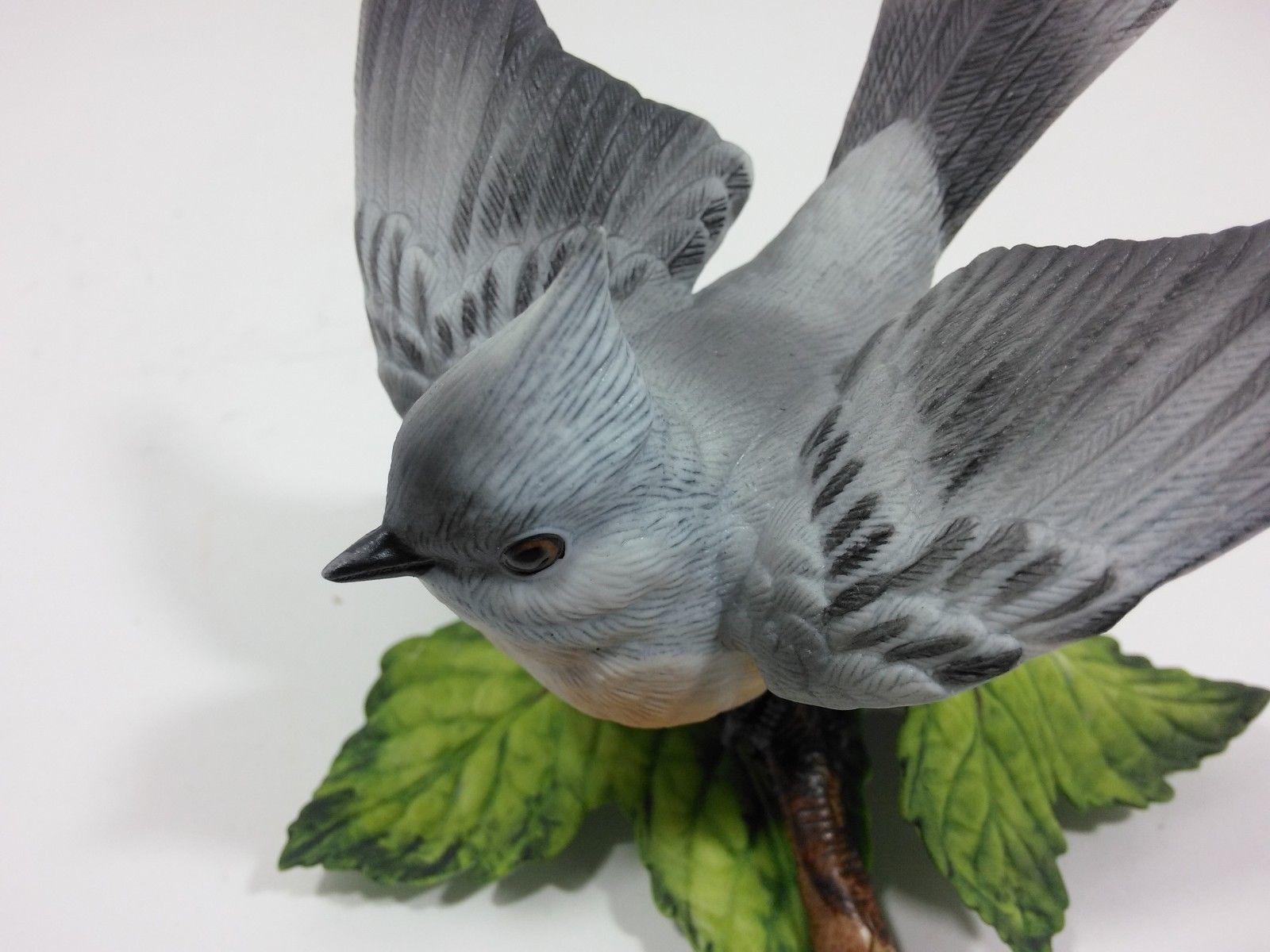 THE LENOX GARDEN BIRD COLLECTION Tufted Titmouse (Fine Porcelain 1986) image 8