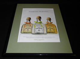 2010 Patron Silver Tequila Framed 11x14 ORIGINAL Vintage Advertisement - $32.36
