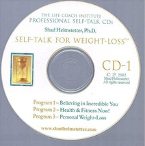 Weight Loss Positive Self Talk - 2 CD - Shad Helmstetter SELF-HYPNOSIS  ... - $49.88