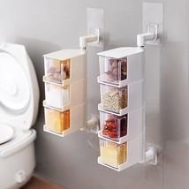Kitchen Sticking Type Hanging Box Storage Organization Box Sticking Stor... - $31.62 CAD+