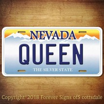 """Playing Cards Suit Symbol """"QUEEN"""" Nevada Vanity Aluminum License Plate Tag - $12.82"""