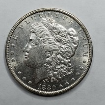 1880O MORGAN SILVER $1 DOLLAR Coin Lot# A 168