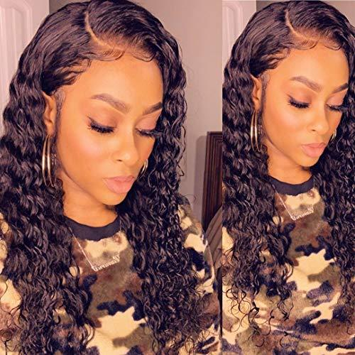 Vigorous Lace Front Wigs for Women Synthetic Long Curly Wigs with Baby Hair Pre