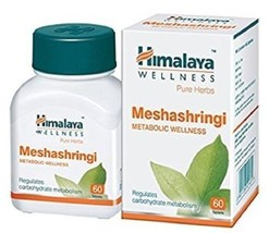 100% Natural Himalaya Wellness Pure Herbs Meshashringi Metabolic Wellnes... - $12.80