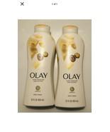 2 Olay Ultra Moisture Body Wash with Shea Butter Complex B3, 22 fl oz - $13.85