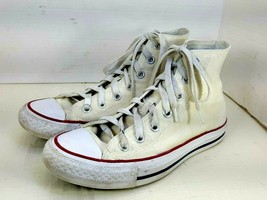 Converse Chuck Taylor All Star White Canvas Sneakers Women's  Size 6.5 H... - $19.78