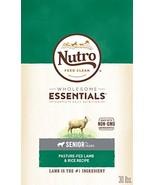 Nutro Wholesome Essentials Senior Dry Dog Food Pasture-Fed Lamb & Rice R... - $53.03