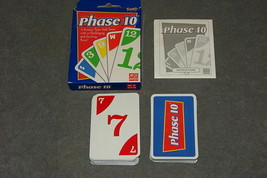 Phase 10 Card Game Fundex [COMPLETE] NICE! - $9.00