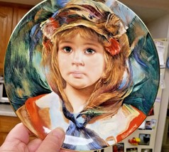 """Royal Doulton Collector Plate """"Angelica"""" Bone China Francisco Masserie Vintage - $17.30"""