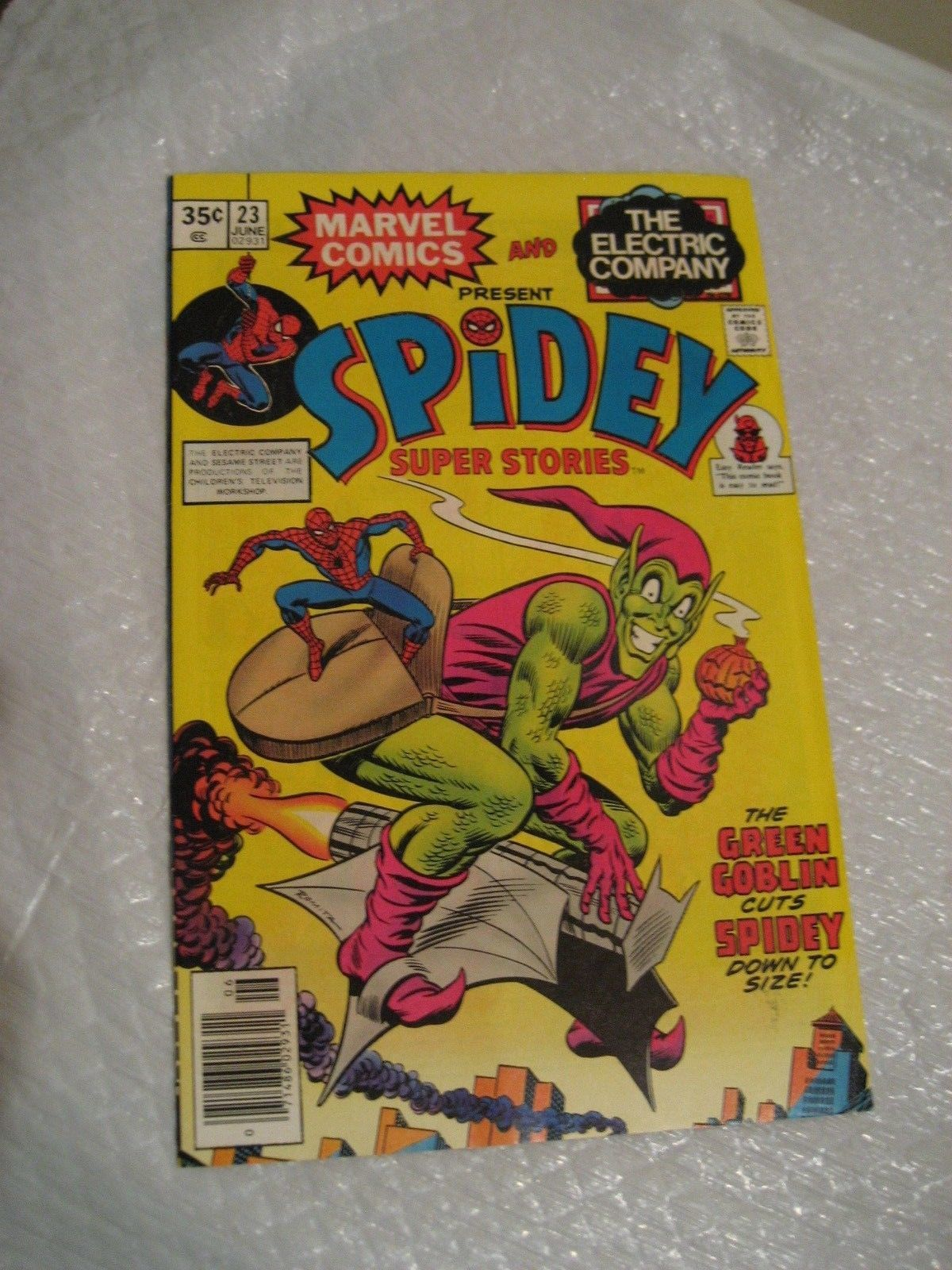 Primary image for SPIDEY SUPER STORIES #23 vf condition, marvel comic 1977