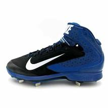 Nike Huarache Pro Mid Metal Baseball Cleats 599235-014 MSRP $95 - Mens S... - $18.49